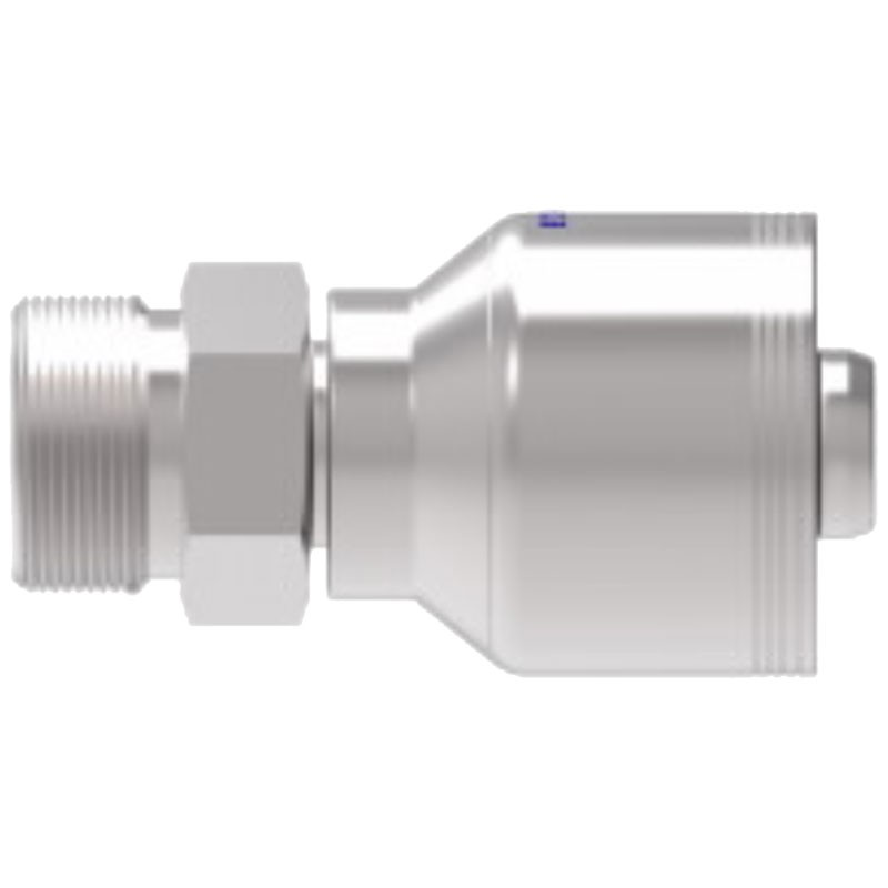 """1/2"""" X 1/2"""" FOR-SEAL® Male Rigid 4S-Series"""