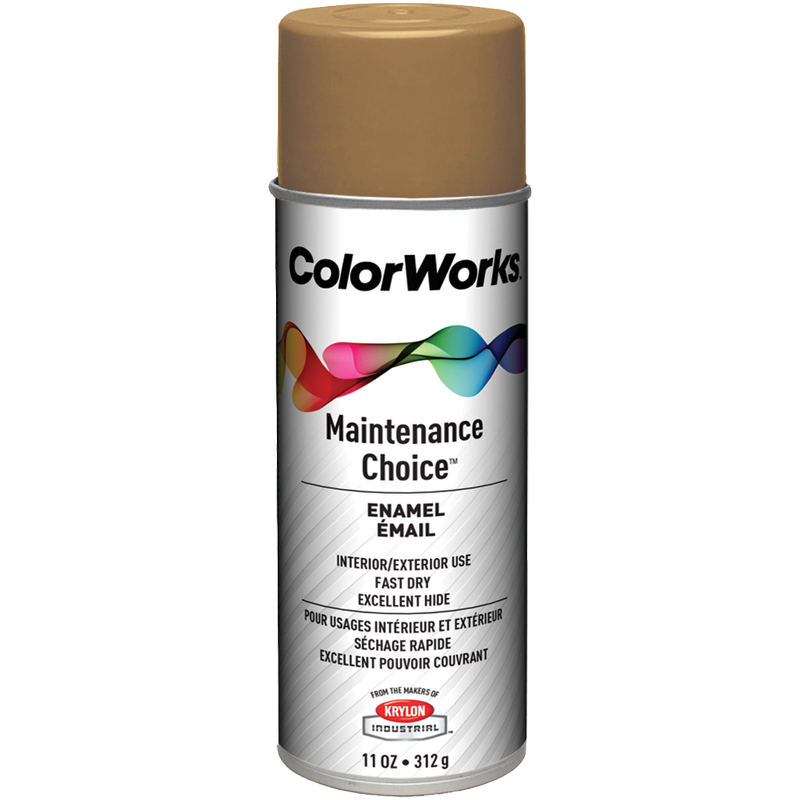 ColorWorks™ Enamel Spray Paint - Gold