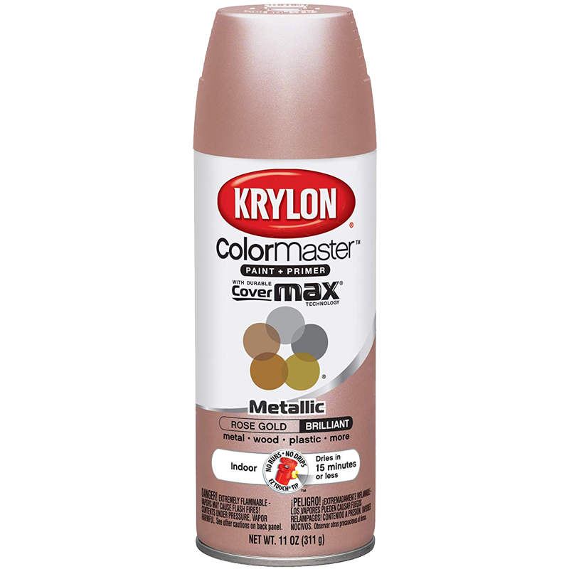 Krylon® CoverMaxx™ Spray Paint - Rose Gold