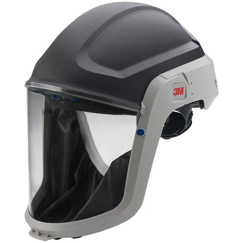 3M™ Versaflo™ M-307 Respiratory Hard Hat Assembly W/Premium Visor and Faceseal, Each