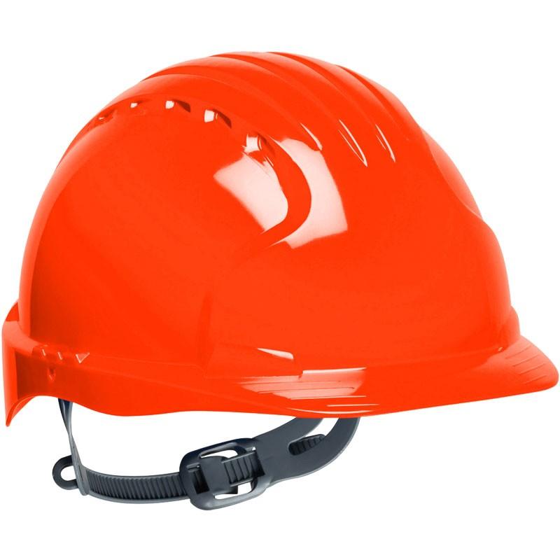 #6131 ORANGE SLIP RATCHED HARD HAT