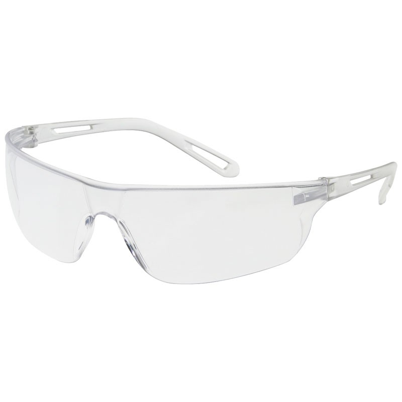 ZENON Z-LYTE SAFETY GLASSES CLEAR FRAMECLEAR ANTI SCRATCH LENS