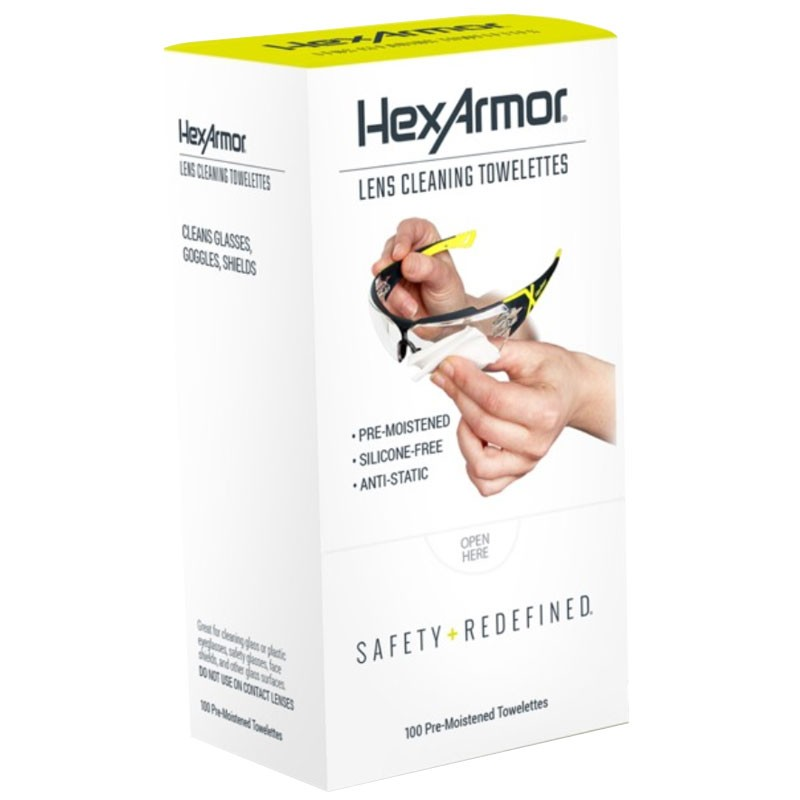 HexArmor Cleaning Wipes 100/Box