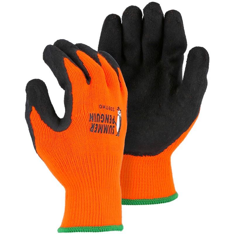 3397HO/M Summer Penguin Medium Hi-Vis Orange Gloves