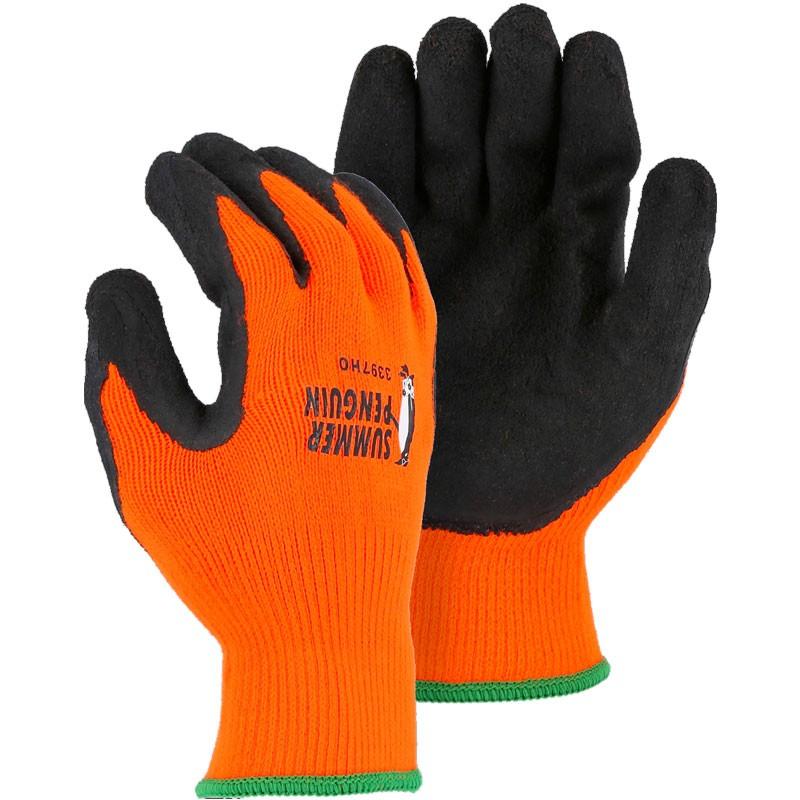3397HO/XL Summer Penguin X-Large Hi-Vis Orange Gloves