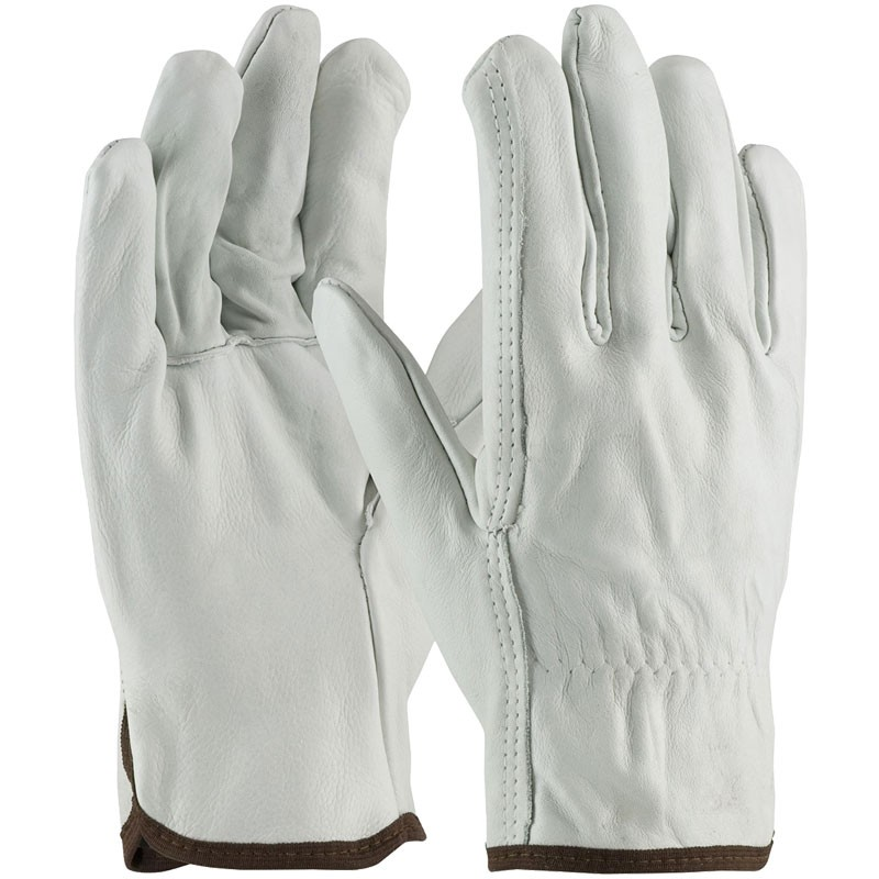 Better Top Grain Cowhide Drivers Glove, Large