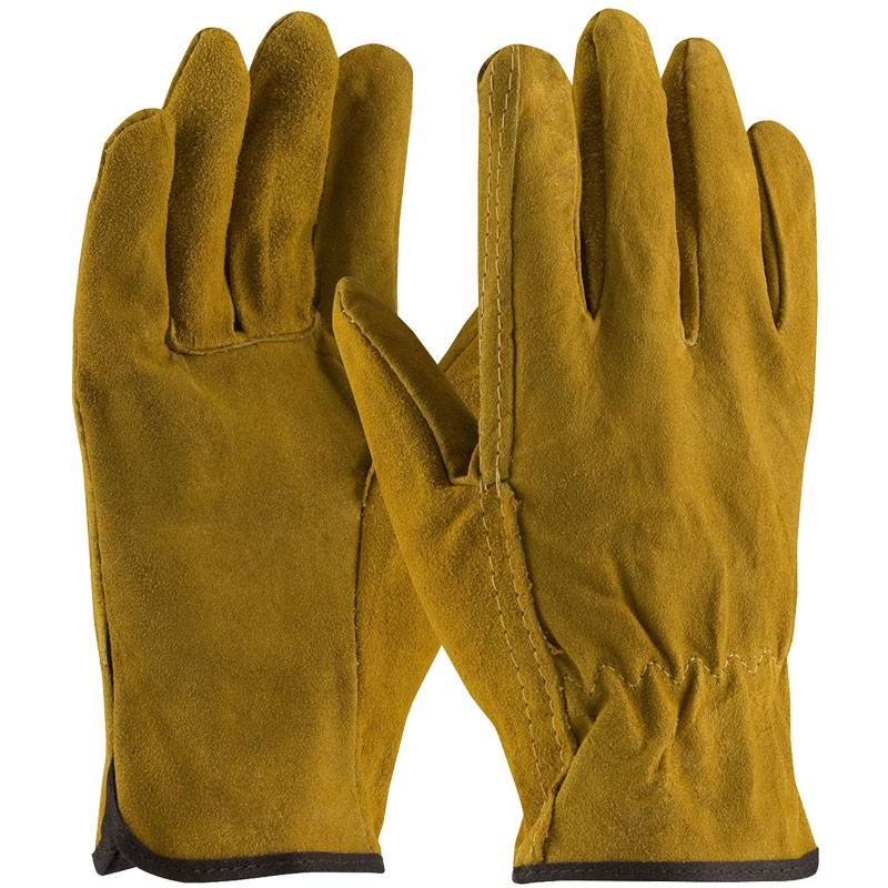 Good Split Cowhide Drivers Glove, Large