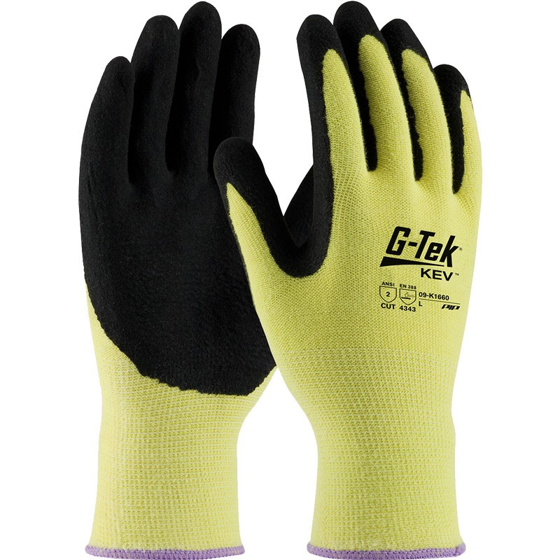 Kevlar® Knit Cut-Resistant Nitrile Coated Gloves, Large