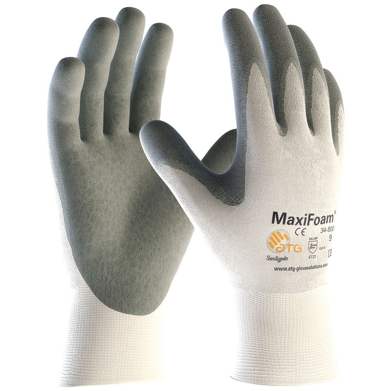 Maxi-Foam® Premium Foam Nitrile Coated Gloves - Small