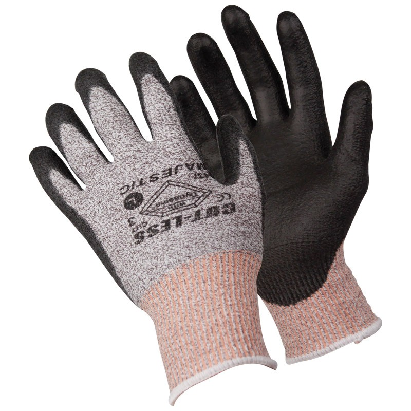 Dyneema® Cut-Resistant Poly Coated Gloves, Large