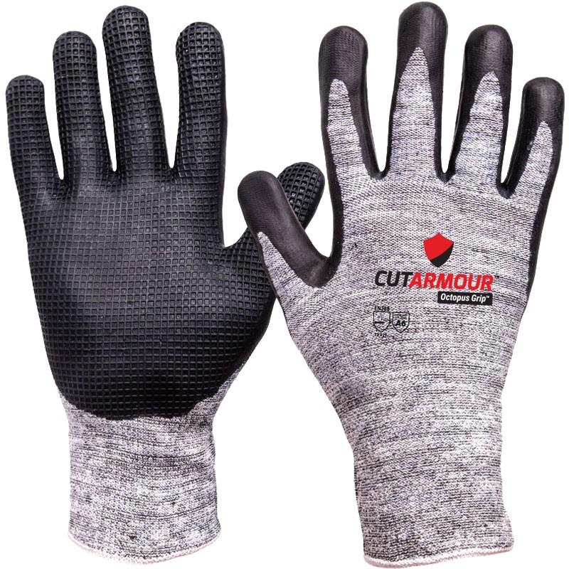 CutArmour™ Cut Resistant Glove with Octopus Grip™, Medium