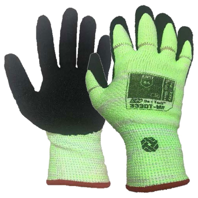 Tilsatec® Cut-Resistant, Tear-Away Safety Glove, Nitrile Foam Grip, Small