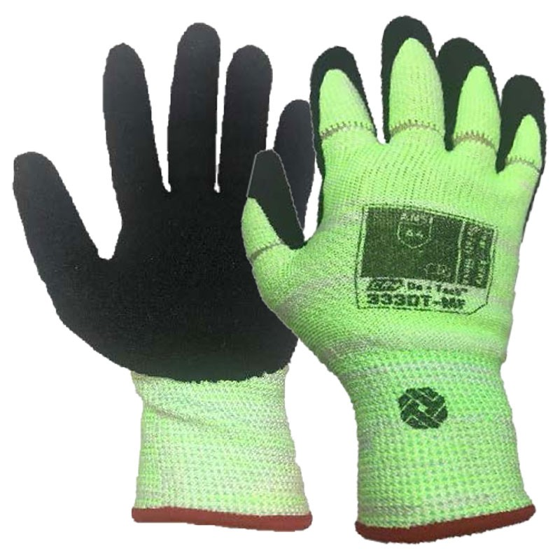 Tilsatec® Cut-Resistant, Tear-Away Safety Glove, Nitrile Foam Grip, Medium