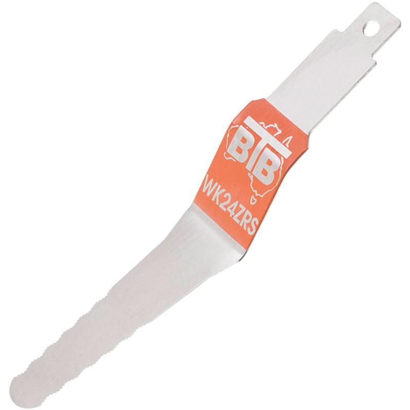 "6"" BTB Flexible Reverse Serrated Z Blade (WK24ZRS)"