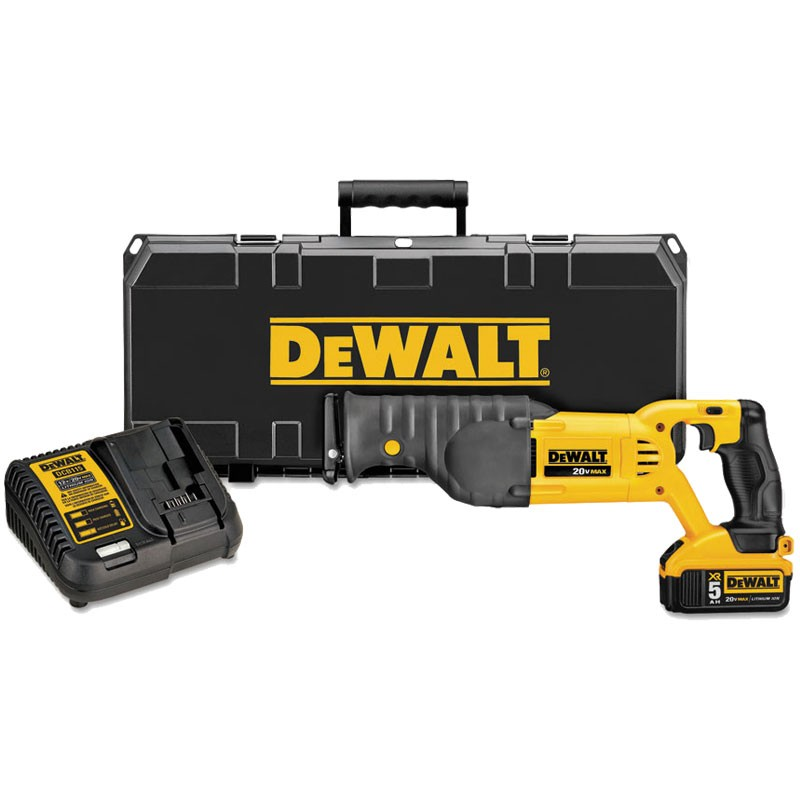 DeWalt® 20V MAX Lithium Ion Reciprocating Saw Kit
