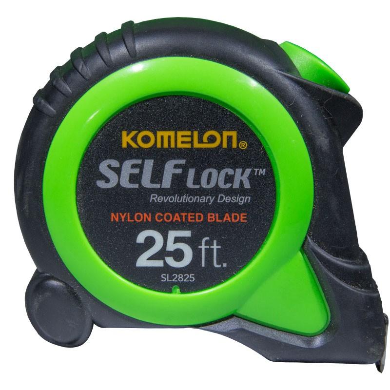 "25' x 1"" Komelon® Self Lock™ Tape Measure - Standard"