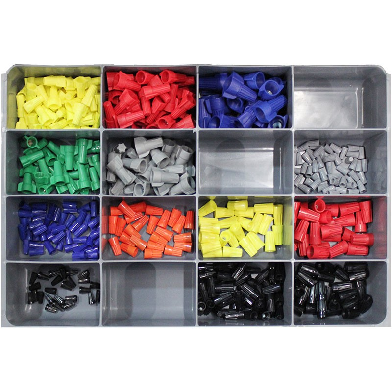 Wire Nut Connectors Assortment Tray