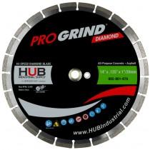 "14"" x .125"" x 1/20MM ProGrind® Diamond All-Purpose Blade"