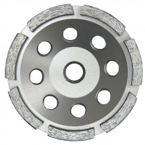 4 IN X 5/8-11 SINGLE ROW DIAMOND CUP WHEEL