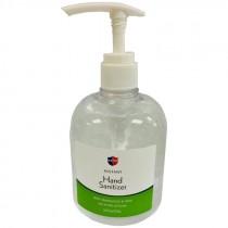 Hand Sanitizer, Gel, 75% Ethyl Alcohol w/ Moisturizer & Aloe, 16 Oz. Pump Bottle