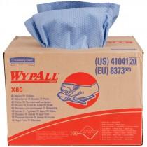 X80 Shop Towels - Brag Box - Blue