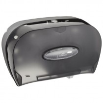 TWIN ROLL TOILET PAPER DISPENSER