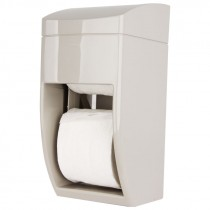 DUAL ROLL TOILET PAPER DISPENSER