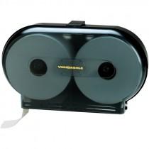 "9"" Twin Jumbo Roll Toilet Paper Dispenser"