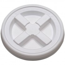 WHITE GAMMA SEAL LID FOR 5 GALLON BUCKET