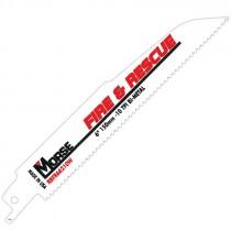 """6"""" x 7/8"""" x .062"""" 10T Fire & Rescue Bi-metal Recip Blade"""
