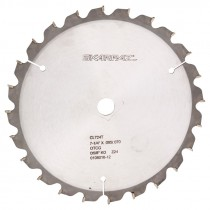 "7-1/4"" x 5/8"" 60T Non Ferrous Metal Cutting Circular Saw Blade"