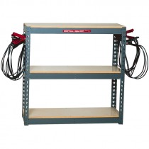 Associated® Model 6086 10-Clamp Acid-Resistant Battery Charging Rack
