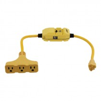 GFCI 3 Way Extension Cord