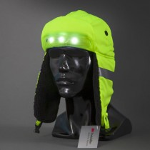 Hi-Vis LED Winter Hat, Rechargeable, Size X-Large