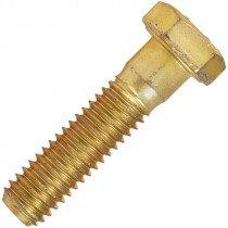 1-8 X 6 HEX CAP SCREW GR 8 ZINC/YELLOW