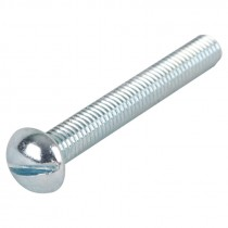 "1/4-20 x 1/2"" Slotted Round Head Machine Screw"