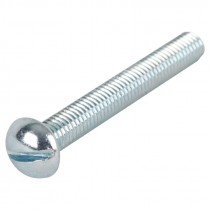 "1/4-20 x 3/4"" Slotted Round Head Machine Screw"