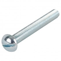 "1/4-20 x 4"" Slotted Round Head Machine Screw"