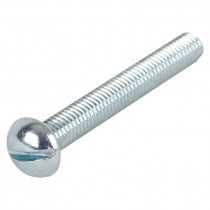 "5/16-18 x 4"" Slotted Round Head Machine Screw"