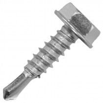 "#12 x 3/4"" Hex Head Tek Screw"