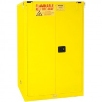 90 Gallon Capacity FM Approved Flammable Safety Cabinet with Self Closing Doors