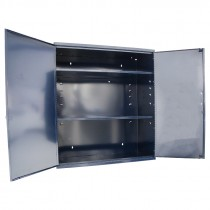 "Utility Cabinet W/ 2 Adjustable Shelves 26.5"" X 12.5"" X 30"""