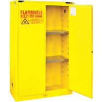 60 Gallon Capacity FM Approved Flammable Safety Cabinet with Self Closing Doors