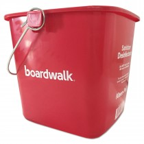 6 Qt. Red Sanitizing Bucket
