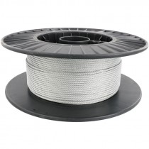"1/8"" 7 x 19 Galvanized Steel Aircraft Cable"