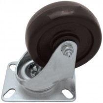 "4"" x 2"" 800 Lb. Phenolic Rigid Caster"