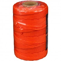 #18 x 500' Nylon Mason Twine - Fluorescent Orange