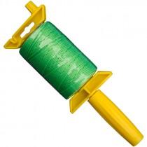#18 x 500' Nylon Mason Twine w/ Stringliner Pro Reel- Fluorescent Green