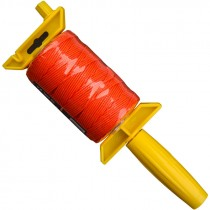 #18 x 500' Nylon Mason Twine w/ Stringliner Pro Reel- Fluorescent Orange