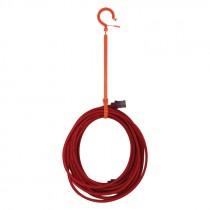 "15-4/5"" Medium Locking Tie Hook"